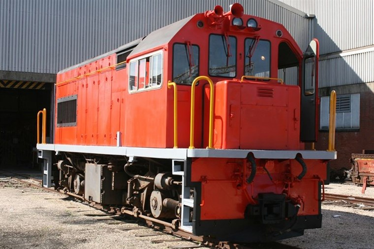 Photo of General Electric Bo-Bo Narrow Gauge Diesel Electric Locomotives for Sale